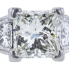 1.25 ct. Princess Cut Solitaire Ring, K, SI2 #1
