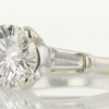 1.27 ct. Round Cut Bridal Set Ring #4