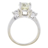 1.94 ct. Round Cut 3 Stone Ring, M-Z, I1 #3
