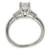 0.82 ct. Princess Cut 3 Stone Ring, F-G, VS2-SI1 #3