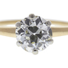 1.67 ct. Old European Cut Solitaire Ring, M, VS2 #4