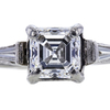 1.26 ct. Square Emerald Cut Solitaire Ring, E-F, VS1-VS2 #1