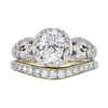 1.01 ct. Oval Cut Bridal Set Ring, G, VS2 #3