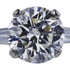 3.49 ct. Round Cut Loose Diamond, H, VS2 #4