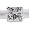 1.02 ct. Radiant Cut Bridal Set Ring, F, SI2 #4