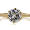 1.45 ct. Old Mine Cut Solitaire Ring #1