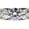 0.8 ct. Round Cut Bridal Set Ring, I, SI1 #4