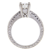 1.2 ct. Radiant Cut Bridal Set Ring, F, VS2 #4