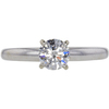 0.65 ct. Round Cut Solitaire Ring, G-H, SI2 #1