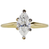 1.02 ct. Marquise Cut Solitaire Ring, F, VS2 #3