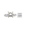 2.05 ct. Princess Cut Solitaire Ring, J, SI1 #3