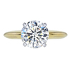 2.05 ct. Round Cut Solitaire Ring, K, SI2 #3