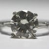 2.38 ct. Round Cut Solitaire Ring #2