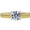 0.90 ct. Round Cut Solitaire Ring, I, VS1 #1