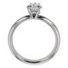 1.00 ct. Heart Cut Solitaire Ring, F, SI2 #3