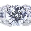 1.20 ct. Round Cut Bridal Set Ring, E, VS1 #4