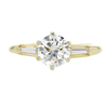 1.01 ct. Round Cut Solitaire Ring, J, SI1 #3