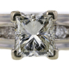 1.50 ct. Princess Cut Solitaire Ring #4