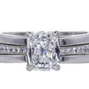 1.67 ct. Cushion Cut Bridal Set Ring #3