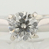 0.94 ct. Round Cut Solitaire Ring #1