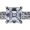 1.01 ct. Asscher Cut Solitaire Ring, D, VVS1 #2
