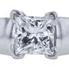 0.75 ct. Princess Cut Solitaire Ring, G-H, VS1-VS2 #1