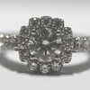 .84 ct. Round Cut Halo Ring #2