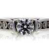 0.76 ct. Round Cut Solitaire Ring #3