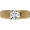 0.92 ct. Round Cut Solitaire Ring, H, SI1 #3