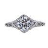 0.91 ct. Round Cut Solitaire Ring, J, VVS1 #2