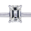 1.72 ct. Emerald Cut Solitaire Ring #1