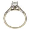 0.96 ct. Emerald Cut Bridal Set Ring, G, VVS2 #4