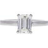 1.41 ct. Emerald Cut Solitaire Ring, I, VS2 #3