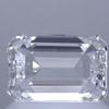 0.90 ct. Emerald Cut Solitaire Ring, E, VVS1 #2