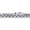 Round Cut Tennis Bracelet, I-J, I1-I2 #1