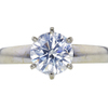 1.86 ct. Round Cut Solitaire Ring, J, SI2 #2