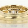 0.76 ct. Emerald Cut Bridal Set Ring #2