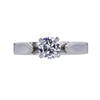0.58 ct. Round Cut Solitaire Ring, D, VS1 #3