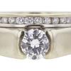 0.64 ct. Round Cut Bridal Set Ring, F, SI1 #4