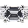 1.06 ct. Emerald Cut Solitaire Ring, D, VVS2 #4