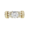 0.99 ct. Round Cut Solitaire Ring, J, SI1 #3