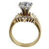 2.15 ct. Round Cut Bridal Set Ring, G-H, I1-I2 #2