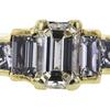 1.50 ct. Emerald Cut 3 Stone Ring #4