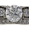 1.20 ct. Round Cut Bridal Set Ring #3
