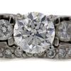 1.20 ct. Round Cut Bridal Set Ring #3