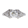 1.01 ct. Round Cut Solitaire Ring, F, VS2 #3