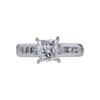 1.37 ct. Princess Cut Ring, G-H, I1 #2