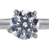0.90 ct. Round Cut Solitaire Ring, G, VS2 #4