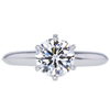 1.27 ct. Round Cut Solitaire Tiffany & Co. Ring, H, VS2 #3