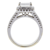 1.66 ct. Princess Cut Ring, H-I, VS1 #2